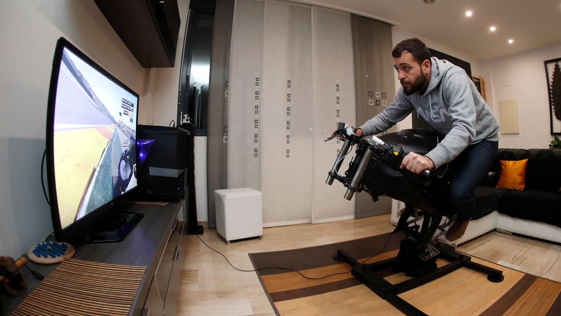 simulador motos para casa