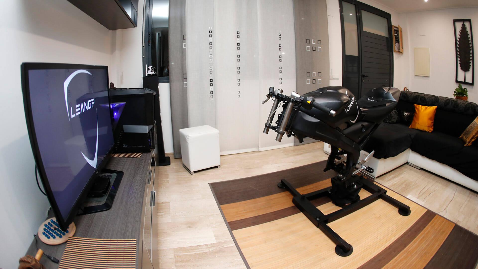 simulateur de moto lean ps4