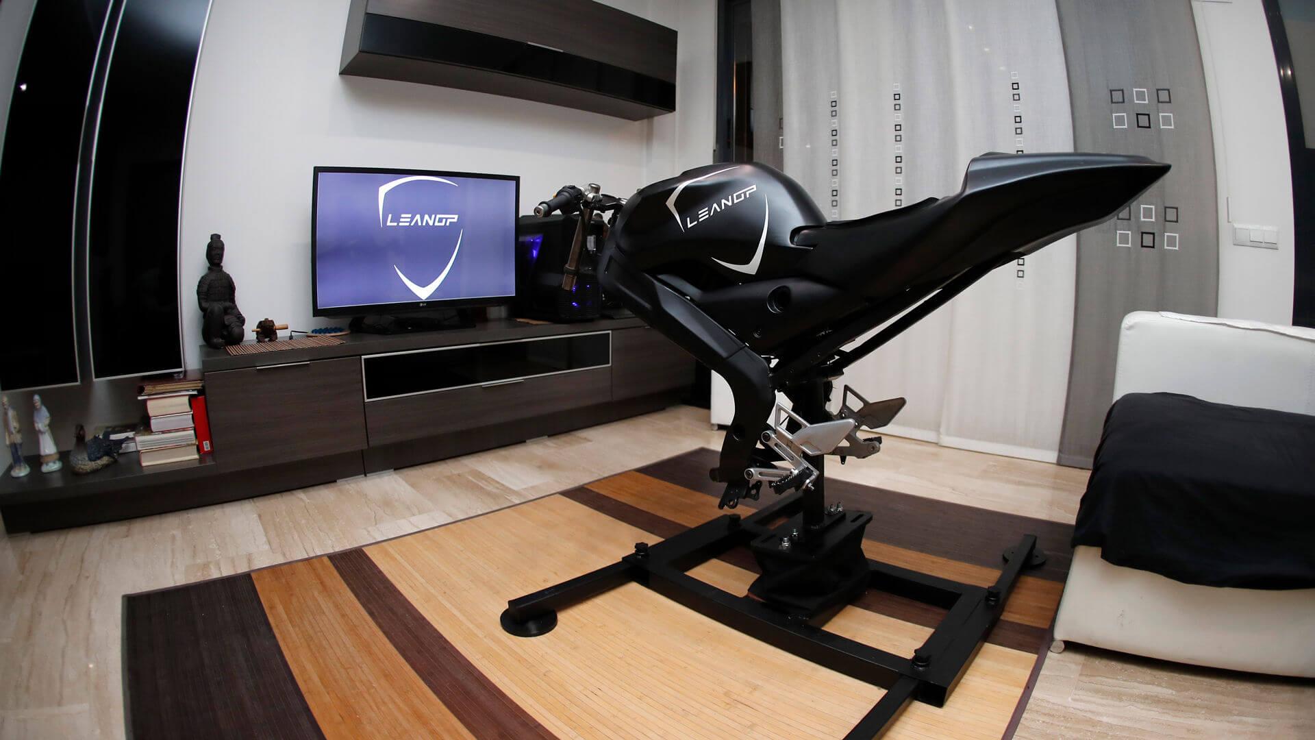 simulateur de moto leangp