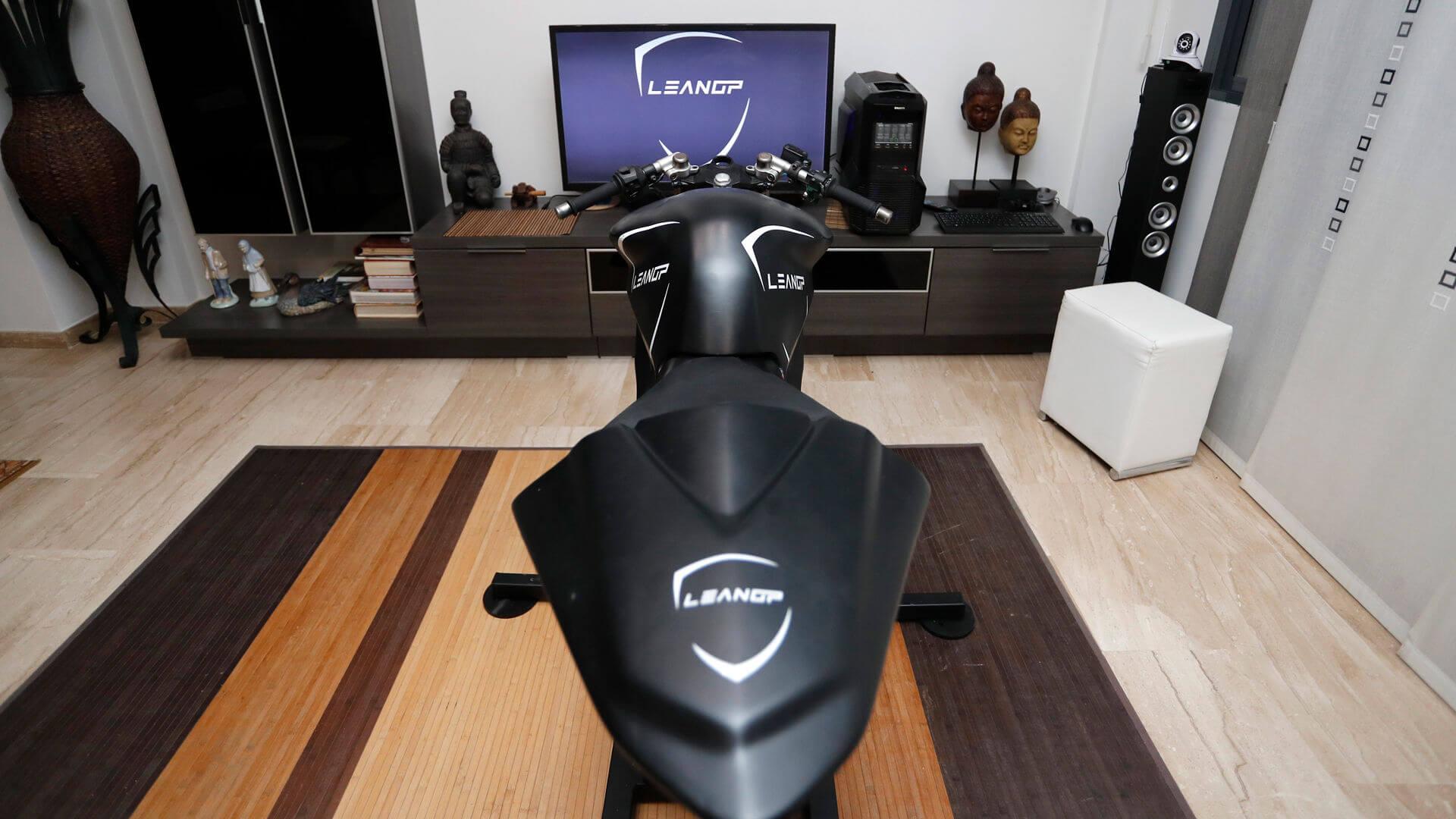 simulateur de moto pour la maison