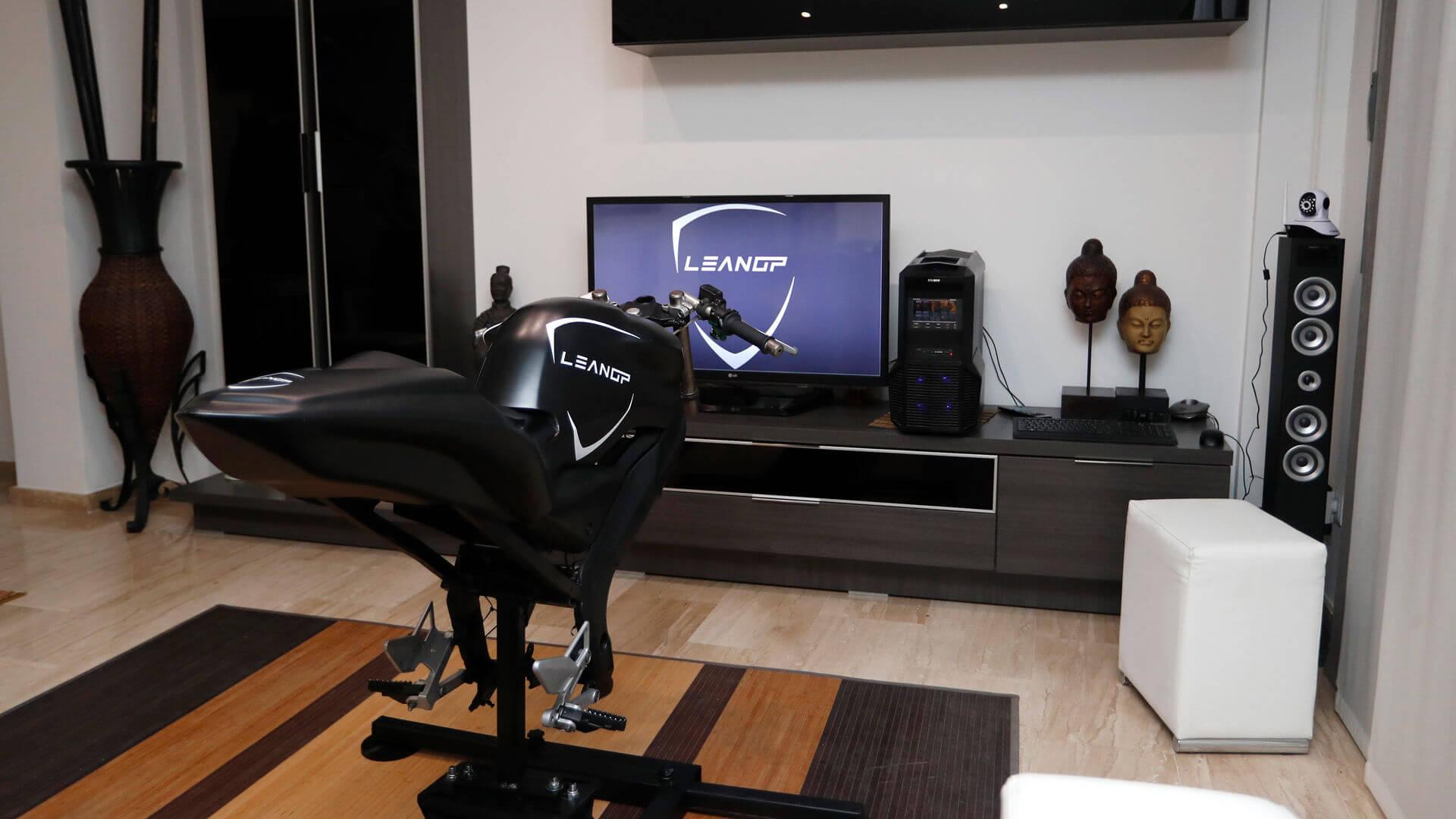 simulateur de motogp