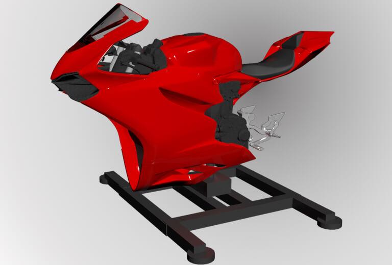 simulateur de moto vr leangp leangp. Black Bedroom Furniture Sets. Home Design Ideas