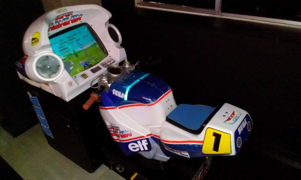 super hang on arcade