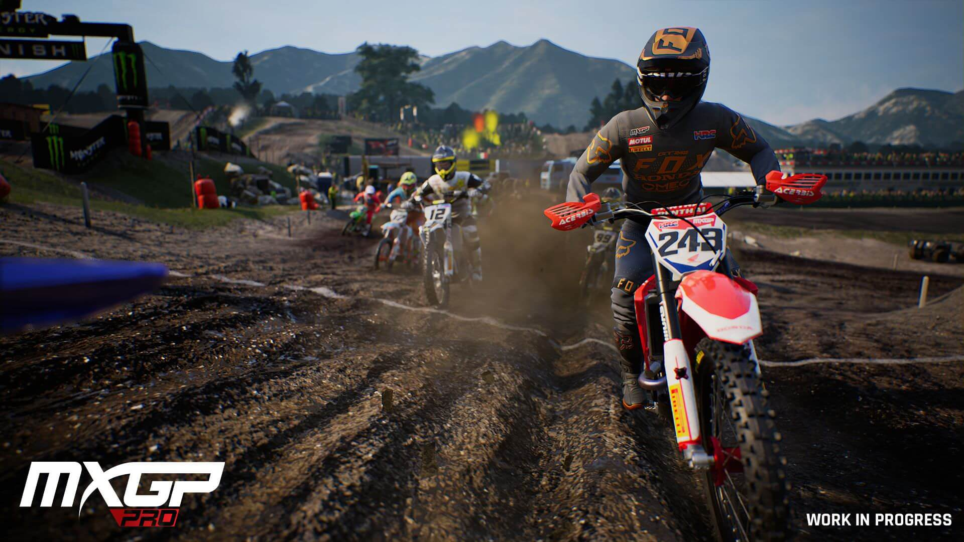 MxGP PRO Cross Motorcycle Simulator - LeanGP